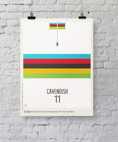 An idea crossed my mind recently about infusing my love of cycling and the Tour de France with a simple graphic approach to creating prints.    In the year that the Tour celebrates its centenary, I wanted to take a look back into the history. Ive always loved the look, style and even feel of those old cycling jerseys. The colours, logos, type and design style always grabbed my attention and in many ways is what makes the Tour the big draw that it is.   Ive highlighted the icons of the Tour…