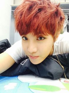 {BTS's J-Hope} #JHope #JungHoseok #BTS I had to pin this on my makeup board because his guyliner is on fleek << LOL