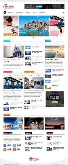 The Review Social Reviews WordPress Theme - WPExplorer