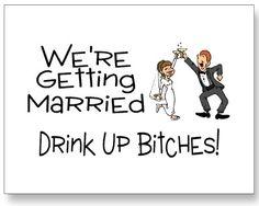 Funny engagement announcement ideas.