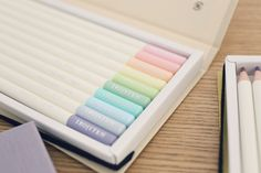Tombow Irojiten colour pencils. Very pale.