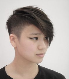 Messy Pixie Cut with Nice Undercut Sides