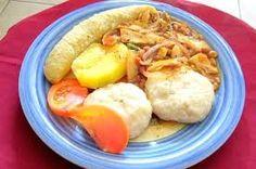 salt-fish and yam my favorite trin dish