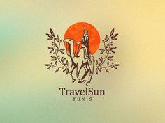 logo with nice illustration