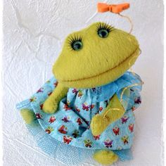 Teddy frog by NutikToys