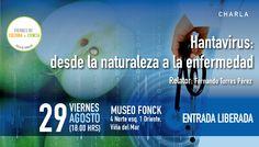 Hantavirus en Viernes de Cultura + Ciencia en @museofonck de #viñadelmar