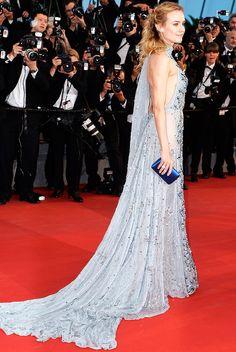 prada bag for man - Blue is Trending at Cannes 2015. Best Dressed: Diane Kruger in ...