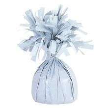 Foil Balloon Weight, White