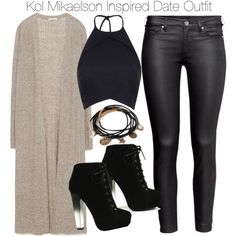Kol Mikaelson Inspired Date Outfit by staystronng on Polyvore featuring Zara, H&M, Fahrenheit, Forever 21, to, date and Kolmikaelson