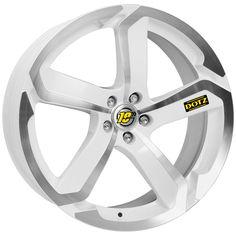 WHITE DIAMOND CUT DOTZ HANZO alloy wheels #vw #bmw #audi #alloy #wheels #rims http://www.turrifftyres.co.uk