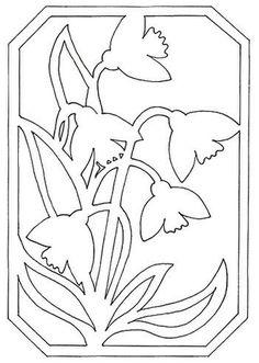 Stencil Art, Stencils, Flower Template, Laser Cut Wood, Pop Up Cards, Kirigami, Craft Gifts, Paper Cutting, Handicraft