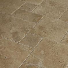 BuildDirect: Travertine Tile Antique Pattern Travertine Tile   Meandros Walnut