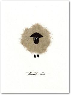 Thank Ewe by Flaunt Cards: Modern Paper Goods