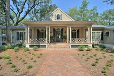 Traditional White House With Black Shutters Exterior Design Ideas, Pictures, Remodel and Decor