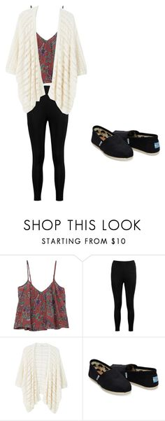 """""""Comfy casual TOMS"""" by izzyb826 on Polyvore featuring Billabong, Boohoo, MANGO and TOMS"""