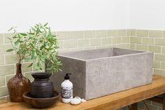 Rustic Industrial Farmhouse Sink // Australian Made Kleins' Good Vibes Handwash // Buy at Schots in Melbourne, Australia