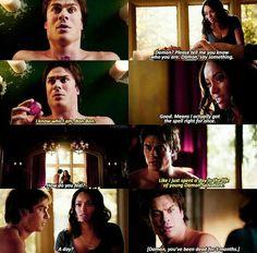 #TVD The Vampire Diaries season 7 Damon & Bonnie, spoiler for me.. ;-;