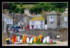 Mousehole harbour - Mousehole, Cornwall