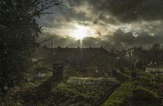 Rainstorm over Folly Island - Hertford