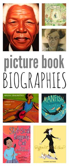 21 Biographies for preschool and early elementary. Great picture book biographies.