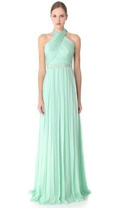 The Dress: Mint Green | somethingborrowed
