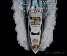 what say you to a week of SUNKISS :) magnificent #motoryacht #charter in #turkey. sleeps 8. watch the video. inquire