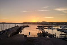 Sunset over Torquay Harbour LG Electronics mm Lg Electronics, Sunset, Pictures, Photos, Sunsets, Resim, Clip Art