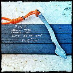 Polish Custom Knives Torbe Knives - Pike Kiridashi