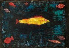 Paul Klee-Der goldene Fisch.