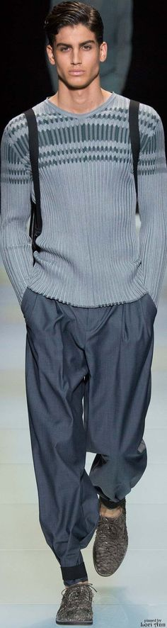 Giorgio Armani Spring 2016 | Men's Fashion | Menswear | Moda Masculina | Shop at designerclothingfans.com