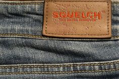 Levi's CEO Recommends To Never Wash Your Jeans.  Is that sanitary? Apparently so.  Is that stinky? Most definitely!  Keep your jeans fresh and Squelch out the odor!