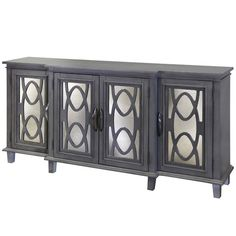 You'll love the Montiel 4 Door Breakfront Mirrored Media Sideboard at Wayfair - Great Deals on all Furniture products with Free Shipping on most stuff, even the big stuff.