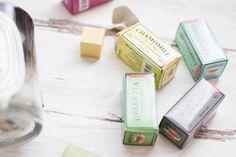 Scented Tea Erasers
