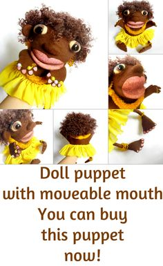 Puppet with big moveable mouth | puppets • hand puppets • finger puppets •kids gifts • kids toys • kids games • kids ideas • muppets • bibabo • puppet theater • puppet diy • puppets for