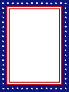 american flag border frames pinterest flags stationary and
