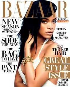 Rihanna // Harpers Bazaar 2012