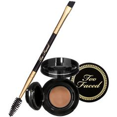 Too Faced Bulletproof Brows - Taupe. Too Faced Bulletproof Brows - Taupe. Eyebrow Makeup, Beauty Makeup, Bio Make Up, Sephora, Waterproof Eyebrow, Brow Kit, How To Color Eyebrows, Bold Brows, The Beauty Department