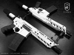 Phase5 - Atlas One AR Pistol in Snow White
