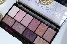 Makeup Revolution I Heart Obsession Palette  Wild Is The Wind & Pure Cult Eyeshadow, Palette, Eyes, Makeup Rev, I Heart Makeup