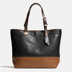 The Small Holdall In Colorblock Leather from Coach
