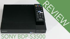 Sony BDP S3500 review 4K