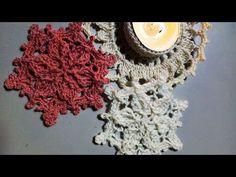 Crochet Dollies, Crochet Snowflakes, Crochet Videos, Doilies, Crochet Necklace, Crochet Patterns, Antiques, Christmas, U2