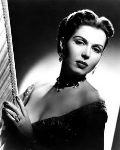 Ann Miller by Clarence Sinclair Bull, publicity portrait for The Kissing Bandit, 1948.