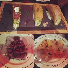 #tacos #fridaynight #dinner #restaurants #milan #tartare #tuna #tataki #salmon #branzino #carpaccio #crostacei #fish #food #foodporn by jessica_zoe7