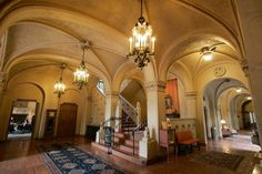 The interior of the Berkeley City  Club, one of Morgan's last significant buildings. The structure at 2315 Durant St. near Telegraph Avenue was built in 1929. Photo: Michael Macor, SFC / San Francisco Chronicle