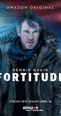 Fortitude ) Created by Simon Donald. With Richard Dormer, Björn Hlynur Haraldsson, Sienna Guillory, Mia Jexen. Perched on the edge of the Arctic Circle, Fortitude is one of the safest towns on earth. There has never been a violent crime here. Best New Tv Shows, Newest Tv Shows, Best Tv, Favorite Tv Shows, New Movies, Good Movies, Movies And Tv Shows, Imdb Movies, Movies Free