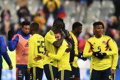 Grandioso fin de semana para los jugadores de la Selección Colombia!