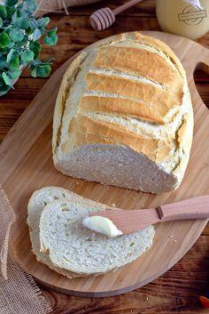 Chleb z garnka – Smaki na talerzu Bread Recipes, Cooking Recipes, Polish Recipes, Breakfast For Dinner, Aesthetic Food, Kitchen Hacks, Recipies, Food And Drink, Meals