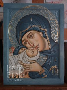 Madonna And Child, Orthodox Icons, Religious Art, Virgin Mary, Christianity, Aga, Byzantine, Artist, Painting
