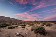 https://flic.kr/p/AieWMT | Sunset Skys over Shaw Pass - Mojave National Preserve, CA, USA